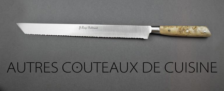 Autres couteaux de cuisine - sur commande - Jean-Loup Balitrand