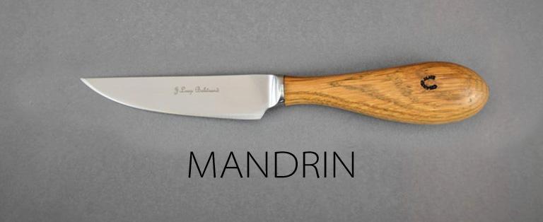 Couteaux de table Mandrin - sur commande - Jean-Loup Balitrand