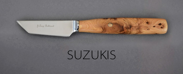 Couteaux de table Suzukis - sur commande - Jean-Loup Balitrand